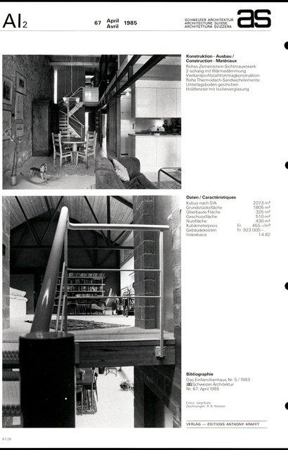 Transformation de la propriété Erlimatt, page 4