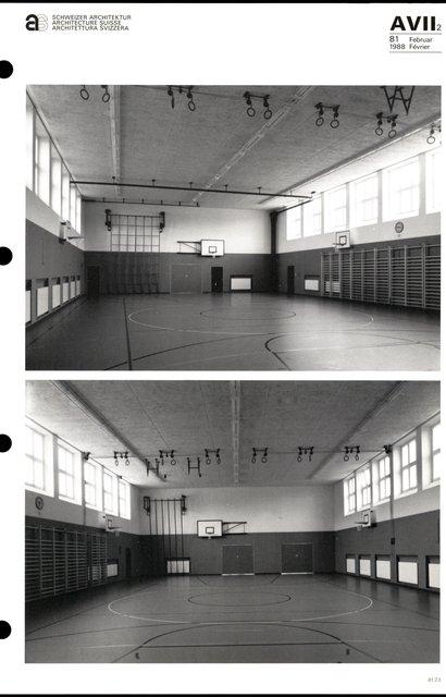 Complexe sportif « Utogrund» Améliorations, transformation et construction d'une annexe, page 3