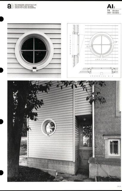 Transformation du bâtiment Feldeck, page 3