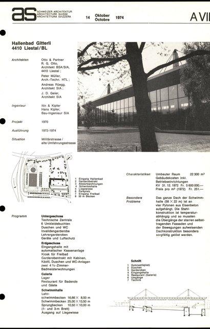 Hallenbad Gitterli, page 1