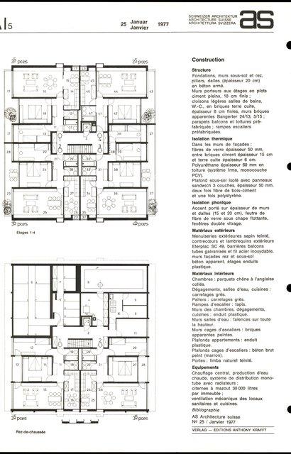 "Habitations collectives ""Les Longeresses"", page 2"