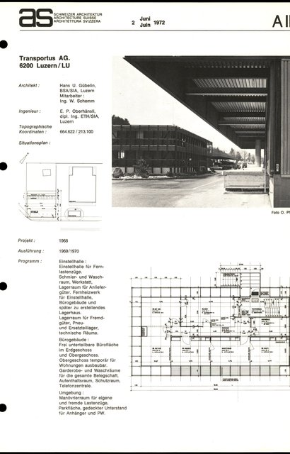 Transportus AG., page 1