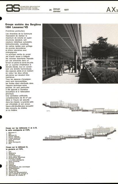 Groupe scolaire des Bergières, page 3
