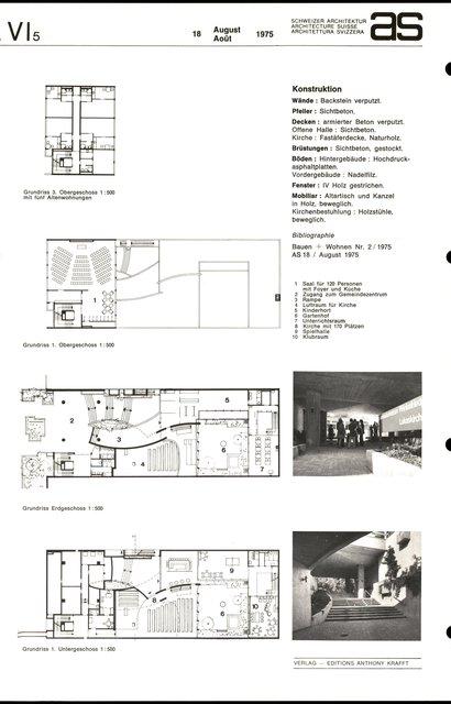 Gemeindezentrum am Winkelriedplatz, page 2