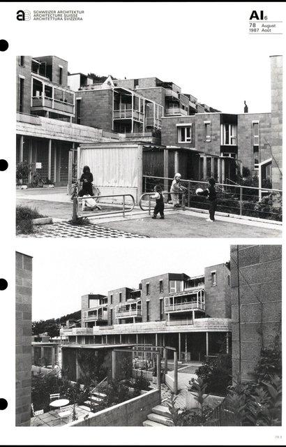 Cité d'habitation Hintere Aumatt, page 3
