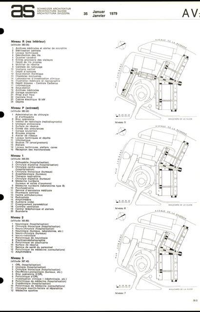 Reconstruction de l'Hôpital cantonal, page 5