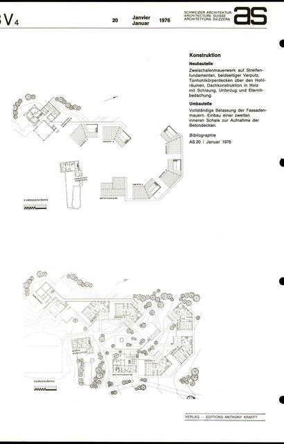 Centre scolaire et sportif, page 1