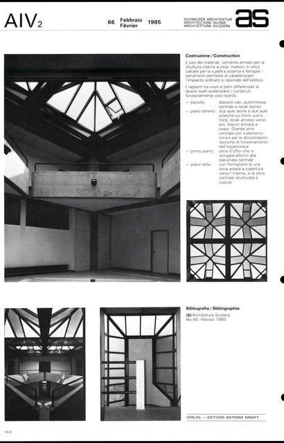 Bâtiment administratif Geberit SA, page 4