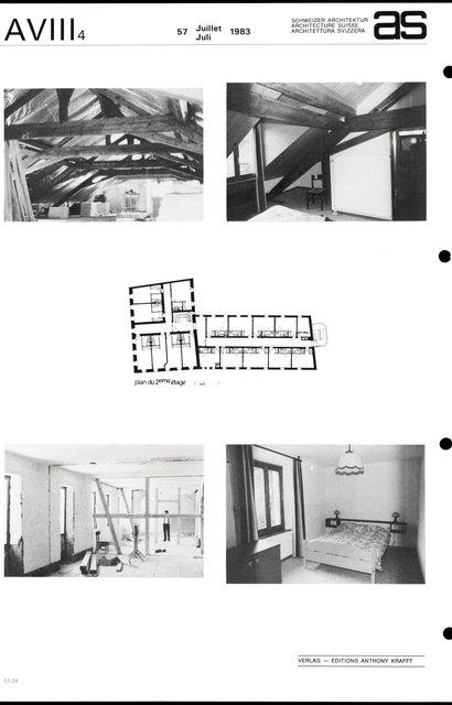 Transformation de l'Hôtel de l'Ours, page 2