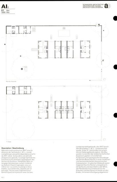 Transformation d'un bâtiment rural et de sa dépendance, page 2