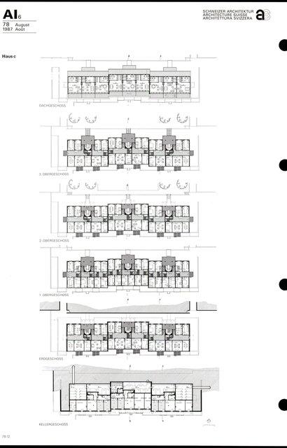 Complexe d'habitation «Im Russen», page 4