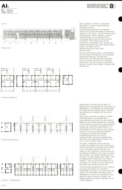 "Grand ensemble d'habitation ""Im Büel"", page 2"