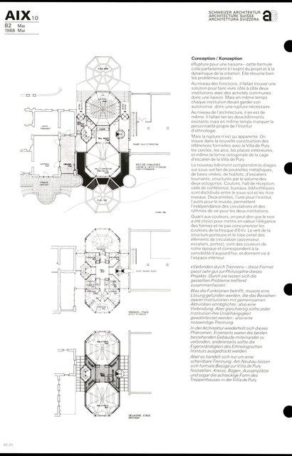 Annexe au Musée d'ethnographie, page 2
