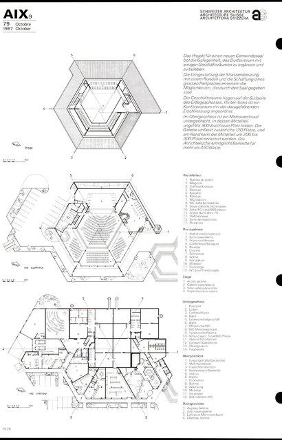Centre de Savigny Salle communautaire et groupe commercial, page 2