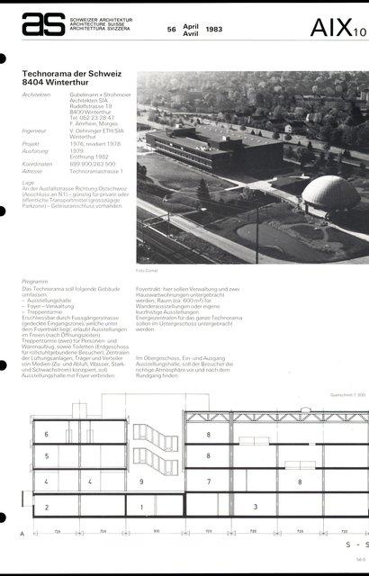 Technorama der Schweiz, page 1