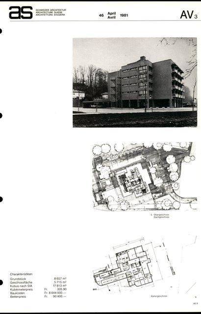Altersheim Scheidegg, page 3