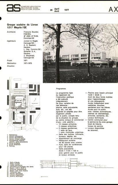 Groupe scolaire de Livron, page 1