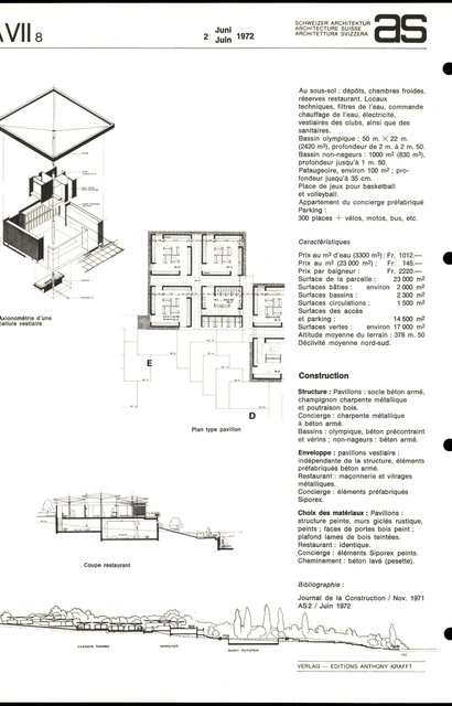 """Piscine communale  """"En Colovray"""", page 2"""