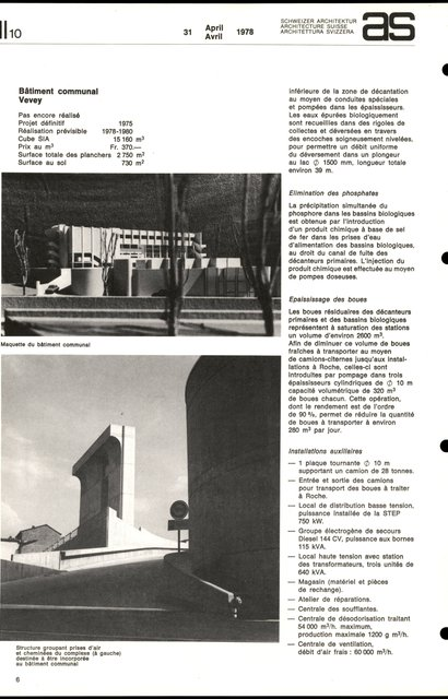 SIEG Vevey-Montreux Service intercommunal d'épuration des eaux, page 6