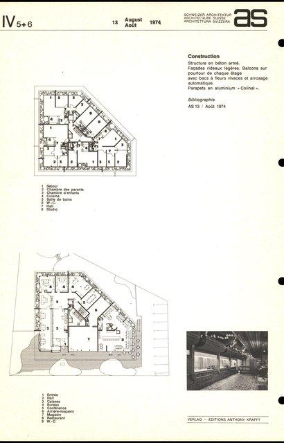 """Immeuble commercial-administratif et locatif S.B.S. """"Ziggurat"""", page 2"""
