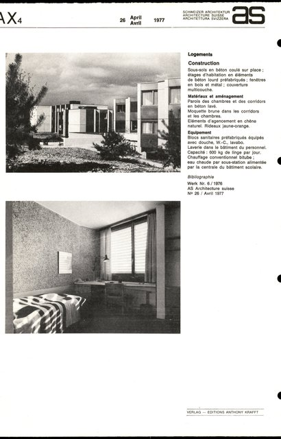 Nouvelle Ecole hôtelière, page 6