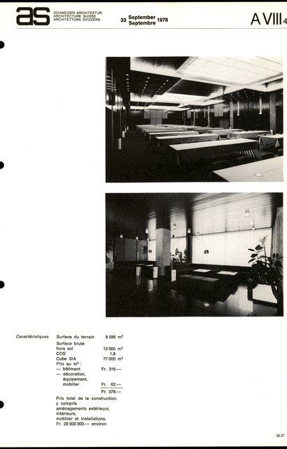 Hôtel Penta, page 3