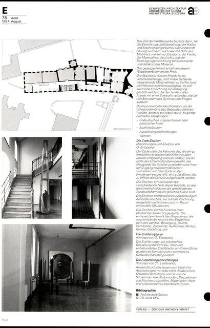 Animation artistique Gymnase de la Cité, page 2