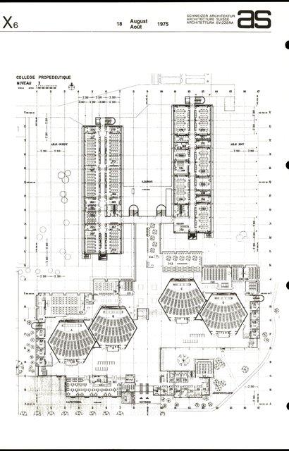 Collège propédeutique de la Faculté des sciences, Cité universitaire de Lausanne-Dorigny, page 2