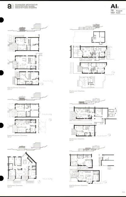Cité d'habitation Hintere Aumatt, page 5