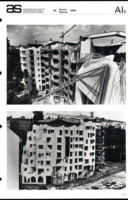 Immeuble d'habitation, page 5