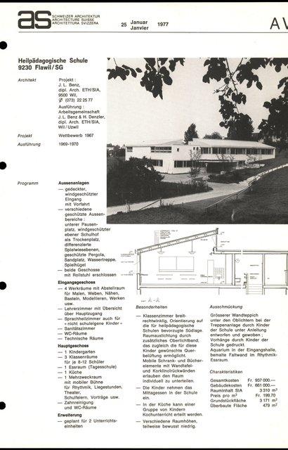 Heilpädagogische Schule, page 1