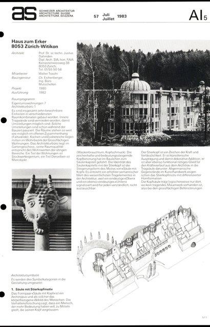 Haus zum Erker, page 1