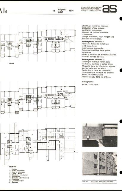 """Immeuble de """"La Combaz"""", Loyers libres, HLM, Troisième âge, page 2"""
