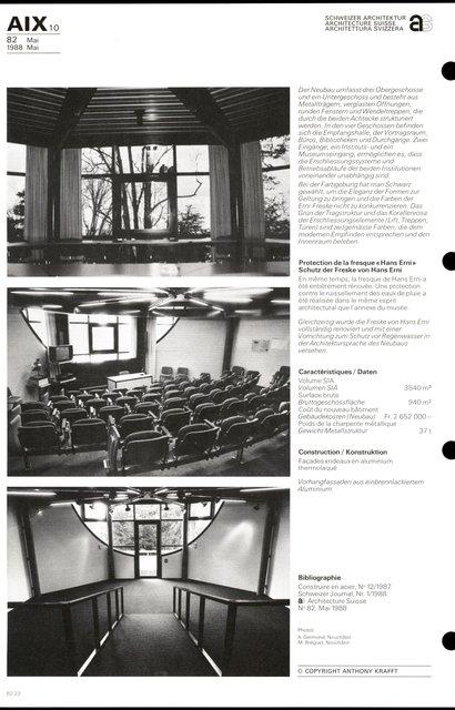 Annexe au Musée d'ethnographie, page 4