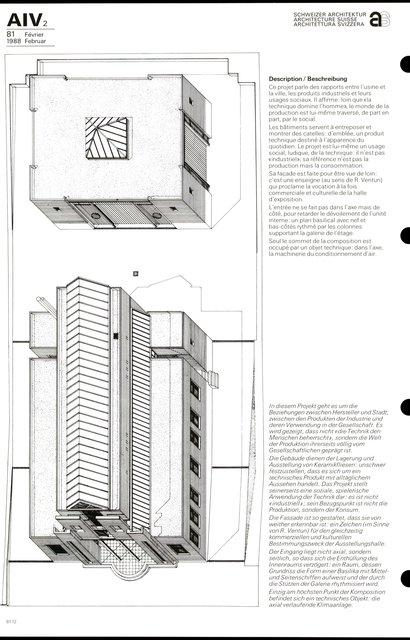 Bâtiment commercial et d'exposition, page 2
