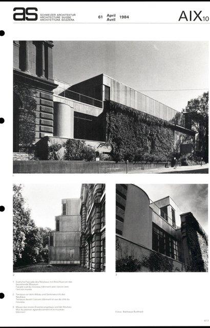 Agrandissement du Musée des Beaux-Arts, page 3