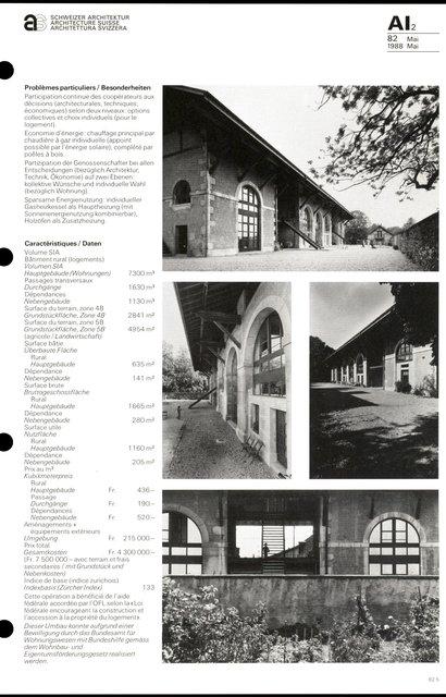 Transformation d'un bâtiment rural et de sa dépendance, page 5