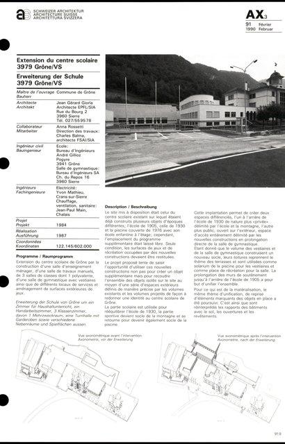 Extension du cenre scolaire, page 1