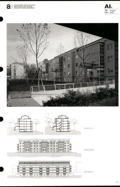 Complexe d'habitation «Im Russen», page 5