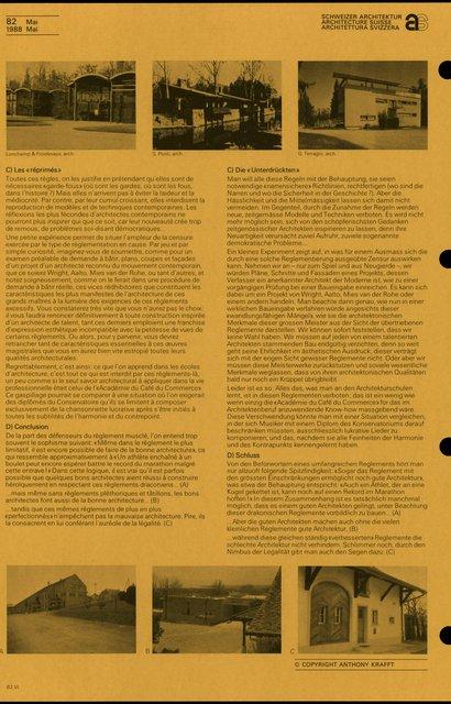 Les règlements: pléthore, pour quels objectifs ?, page 8