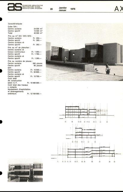 Centre scolaire et sportif, page 4