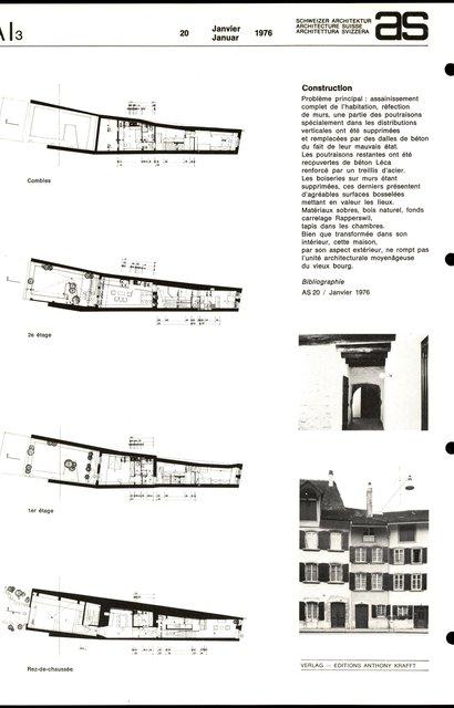 Habitation unifamiliale, Transformation, page 2