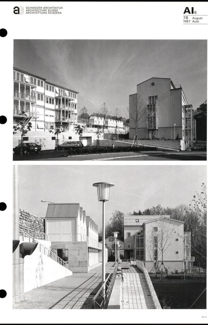Complexe d'habitation «Im Russen», page 3