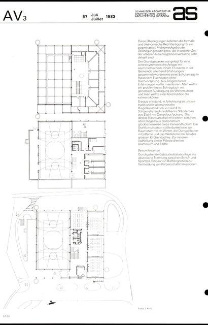 Mehrzweckgebäude Kirchbühl-Ost, page 2