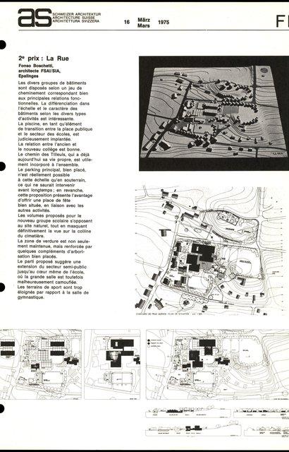 Concours d'idées en vue de l'aménagement d'un secteur d'équipements collectifs, page 3