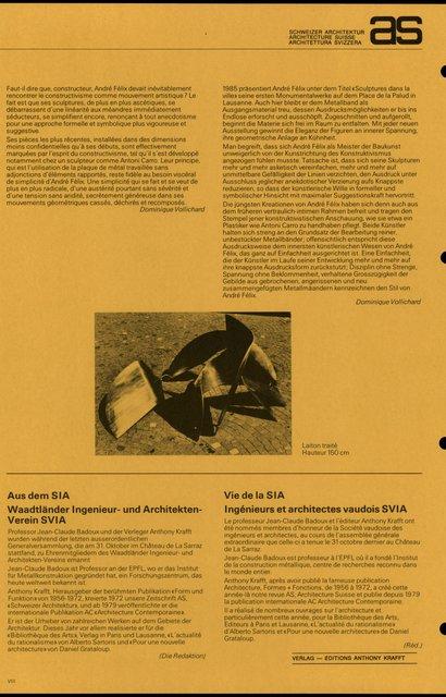 André Félix, artisan et artiste Profils et sculptures, page 3
