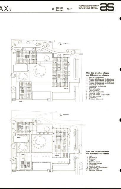 Groupe scolaire des Bergières, page 2