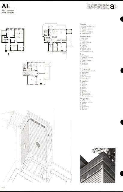 Transformation du bâtiment Feldeck, page 2