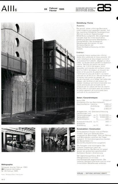 Dépôt de la gare du Brunig, page 4