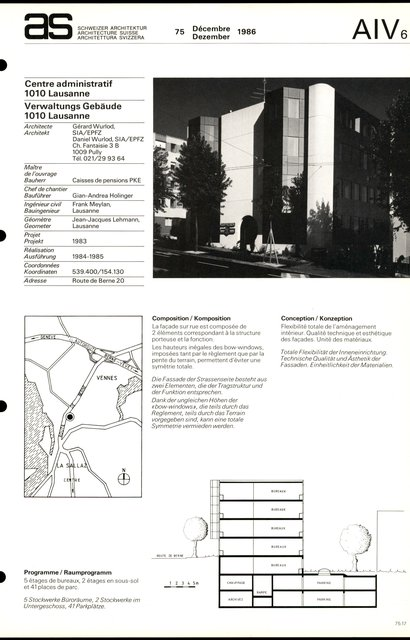 Centre administratif, page 1